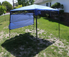 Bravo Sports Quik Shade Ultra Compact 6' X 6' Blue Backpack Canopy: 157433