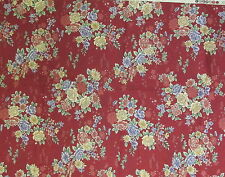 Artistic Impressions floral cotton fabric Asian Splendor BTHY half yard cut