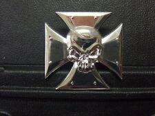 Pin Eisernes Kreuz Totenkopf - 3,5 x 3,5 cm
