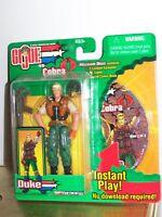 G.I. Joe vs Cobra Duke Figure Hasbro 2003