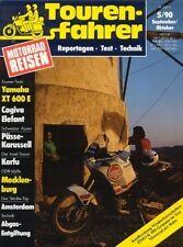 TF9005 + Test CAGIVA Elefant 900 i.e. + YAMAHA XT 600 E + Tourenfahrer 5/1990