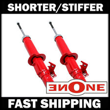 Mookeeh 2pc Front MK1 Stiff Shorter Shocks Struts For Lowered Vehicles GS3536