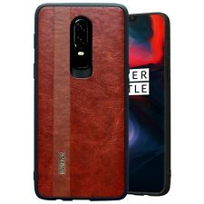 OnePlus 6 Cover Case Noziroh Leather Design Cuoio Antishock Frosted Shockproof