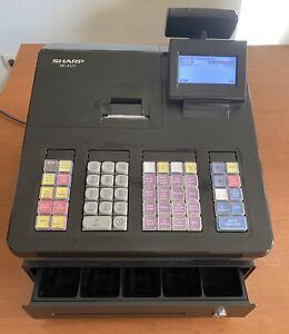 Sharp XE-A177-BK elektronische Registrierkasse Ladenkasse Kassensystem