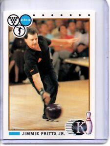 1990 PBA BOWLING CARD #85 JIMMIE PRITTS JR.