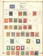 Kenr2: Iceland Collection from 1840-1940 Scott Intern Bound Album