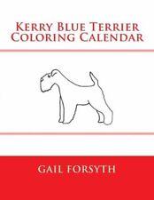 Kerry Blue Terrier Coloring Calendar