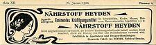 Chemische Fabrik von Heyden Radebeul- Dresden Eminentes Kräftigungsmittel v.1900