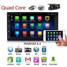 Android 5.1 Autoradio Bluetooth Navigation Doppel 2 DIN USB GPS 3G WIFI USB RDS