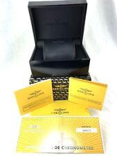 "Breitling SuperOcean Heritage Chrono Watch Box Case Hard Black Display 6.5"""