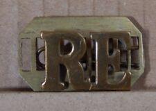 WW2 Royal engineers Shoulder Title Genuine