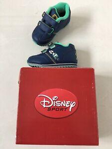 Disney Sport Baby Boy Blue Shoes BNIB Smith & Brooks Size C3 EUR 19, 9-12 Months