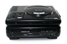 ## SEGA MEGA-CD 1 Konsole mit Mega Drive 1 + Pad + TV- & Stromkabel - TOP ##