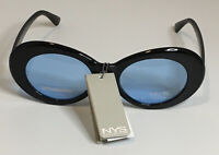 NYS COLLECTION SUNGLASSES STYLE 4628-88 Holly Court Blue Lens Non Polarized
