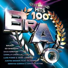 BRAVO HITS VOL.100 - ED SHEERAN, BAUSA, NICO SANTOS, CAMILA CABELLO  2 CD NEU