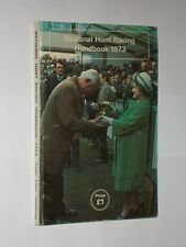 Capt.Luis Gordon, M.Inst.M. National Hunt Racing Handbook 1973 Softback Book.