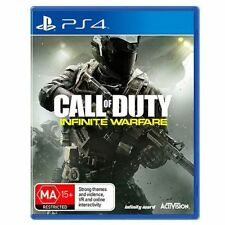 Call of Duty: Infinite Warfare + Terminal MAP DLC PS4 Game Brand New In Stock