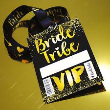 Bride Tribe VIP Hen Party / Hen Do / Bachelorette Party Lanyards