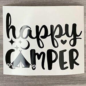 Happy Camper Vinyl Decal