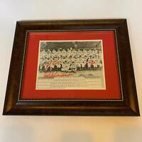 1946 St. Louis Cardinals World Series Champs Team Signed Framed Photo JSA COA