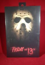 "FRIDAY THE 13TH 7"" SCALE NECA ACTION FIGURE ULTIMATE JASON  (2009)"