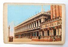 PHOTO ANCIENNE ALBUMINÉE / VENISE PALAZZO REALE / 14,6 x 10,1 / 1900 / COLORISÉE