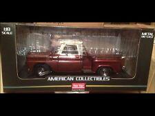 1965 Chevrolet pickup truck Maroon 1:18 SunStar 1391