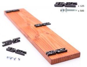 "125 pcs SET ""Easy-Use"" Terrassen-Verbinder, Deck Support, Terrace Connector,"