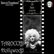 tarocchi hollywood vintage attrici star mazzo carte da gioco oracolo nuovi set