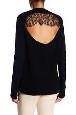 NEW A.L.C. Peter Wool Blend Sweater in Black - Size XS