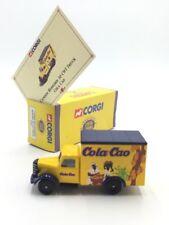bedford 30 cwt cola cao 1/64 corgi camions d'antan n49/50 boite cert proche neuf