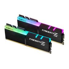G. SKILL Trident Z RGB 16GB (2 x 8GB) PC3200 (DDR-400) Memory (F43200C16D16GTZR)