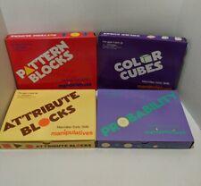 Lot Of 4 Manipulatives Macmillan Early Skills Teaching Aid Homeschool Math Games