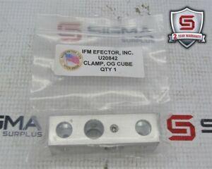 IFM Effetor U20842 Clamp, OG Cube