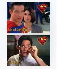 Skybox 1995 Lois & Clark New Adventures of Superman 2 Card Prototype Promo Set