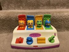 FISHER PRICE ANIMAL POP-UP WITH SOUND TOY. Verified The Item Works