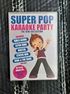 SUPER POP KAREOKE cd