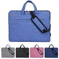 Laptop Shoulder Bag Sleeve Case Cover Handbag For HP Dell Lenovo Apple Notebook