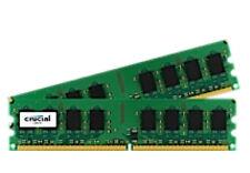 Crucial CT2KIT25664AA800 (4GB, PC2-6400 (DDR2-800), DDR2 SDRAM, 800 MHz, DIMM 240-pol.) RAM Module