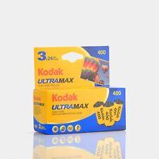 Kodak UltraMax 400 Color 35mm Film (24 Exposures) - 3 Pack