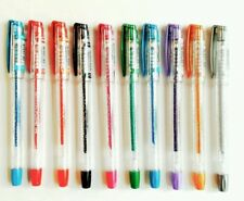 Excellent Quality Glitter Gel Pens 1.0mm Swiss Tip 10 VIVID Colours
