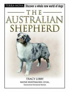 BOOK  - The Australian Shepherd by Tracy Libby - Terra Nova Series - CD Included