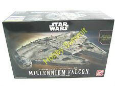 STAR WARS 1/144  MILLLENNIUM FALCON  The Force Awakens  Hans Solo  Bandai Kit