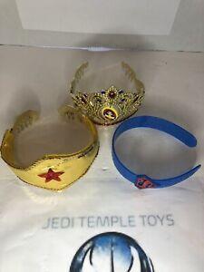 DC Comics WONDER WOMAN Supergirl Superhero Girls Replica Tiara Crown Headpieces