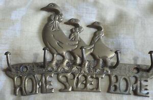 Metal Coat Hook Geese