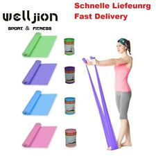 4 Set Latexband Resistance Fitnessbänder Expander Gymnastik Widerstands Fitness
