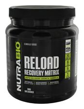 NutraBio - Reload Recovery Matrix Post Workout Powder Raw Unflavored - 686 Grams