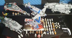 Lego Star Wars Figuren Und Raumschiffe Sammlung Konvolut