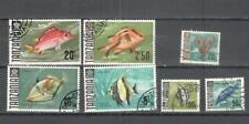 S8824 - TANZANIA 1967 - LOTTO ALTI VALORI PESCI - VEDI FOTO
