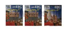 Plaquettes de frein EBC pour motocyclette Kawasaki
